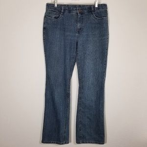 SONOMA Womens Stretch Blue Jeans